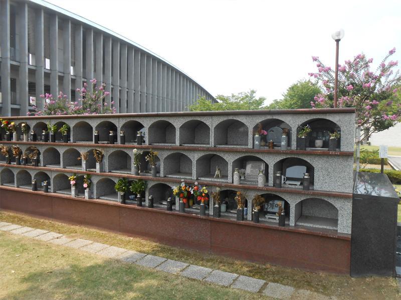 さいたま市営霊園 思い出の里 一般墓 立体墓地 屋外