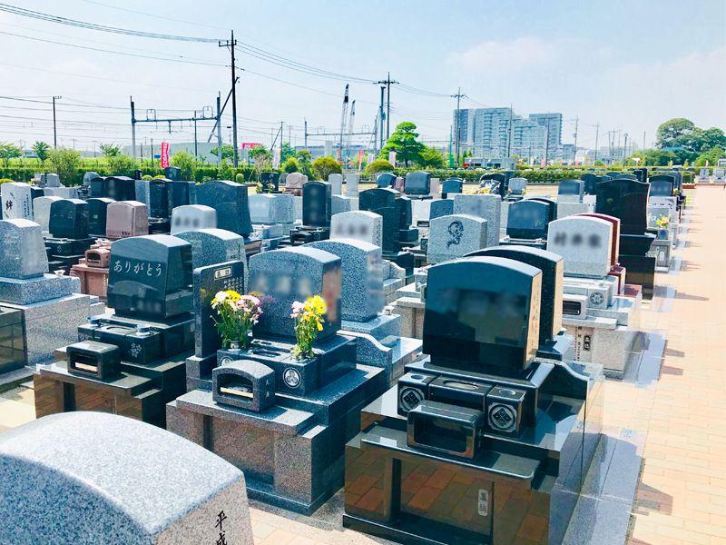 駅前霊園美南 一般墓 横ゆとり