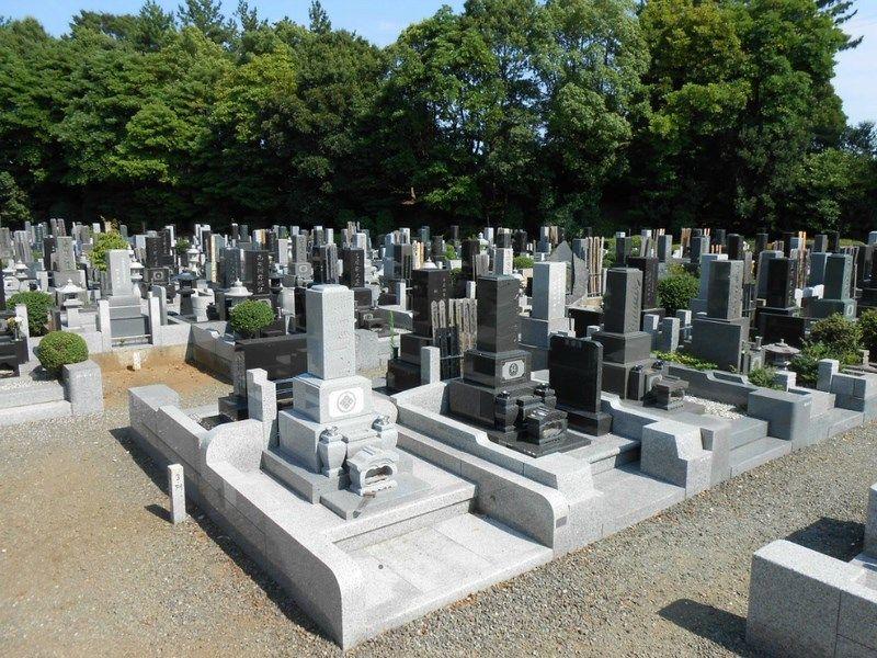 藤沢市営 大庭台墓園 一般墓 普通墓地