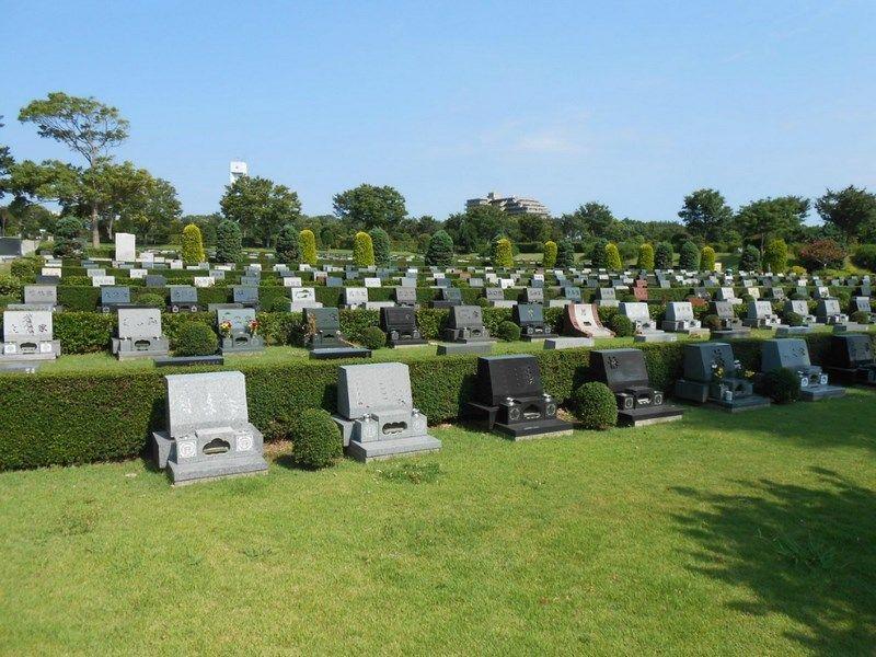 藤沢市営 大庭台墓園 一般墓 芝生墓地
