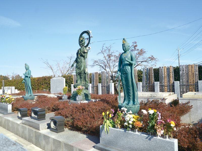 宝積観音メモリアル悠久の丘の永代供養墓で樹木葬