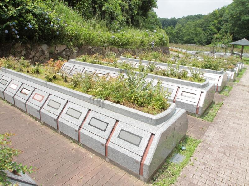 川崎市営 早野聖地公園 一般墓 個別集合型墓所
