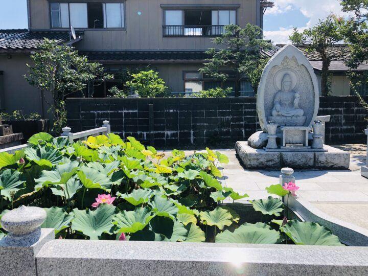 香積寺 のうこつぼ