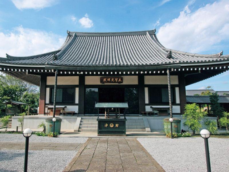 宝積観音メモリアル悠久の丘の宝積寺本堂