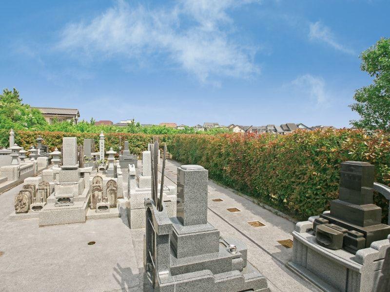 新福寺墓苑の風景