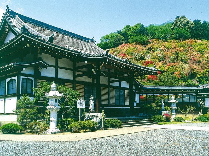 正法寺苑の風景