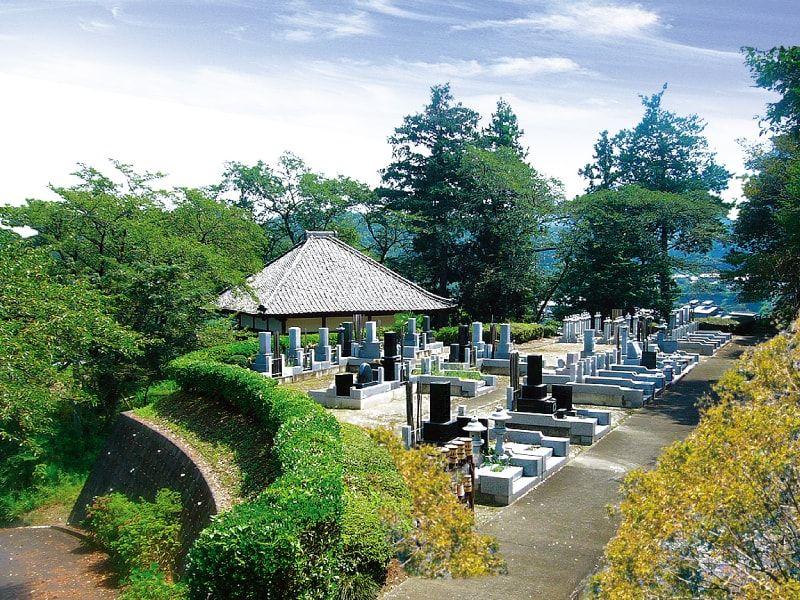 百体観音霊苑の墓域