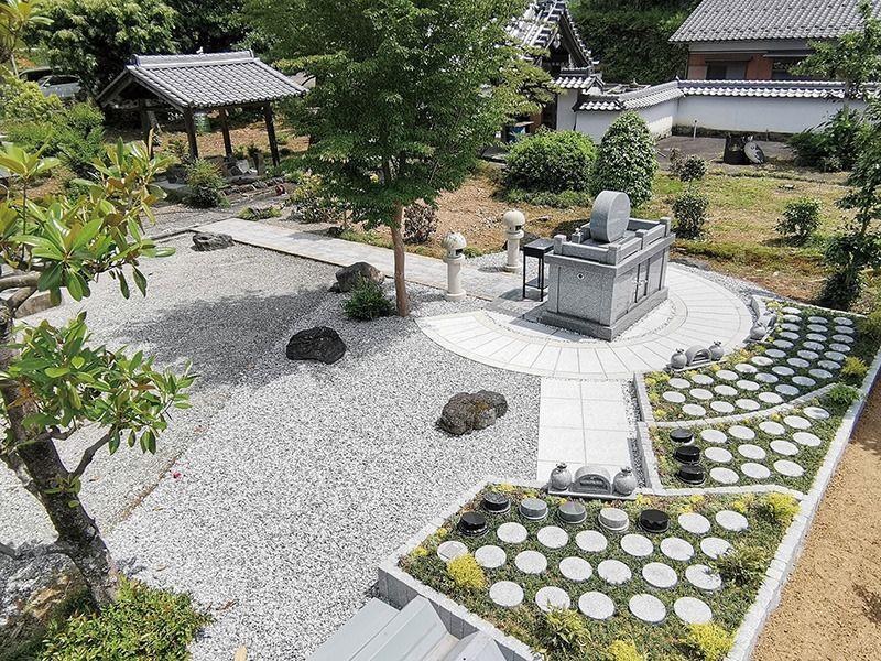 ぎふ樹木葬墓地