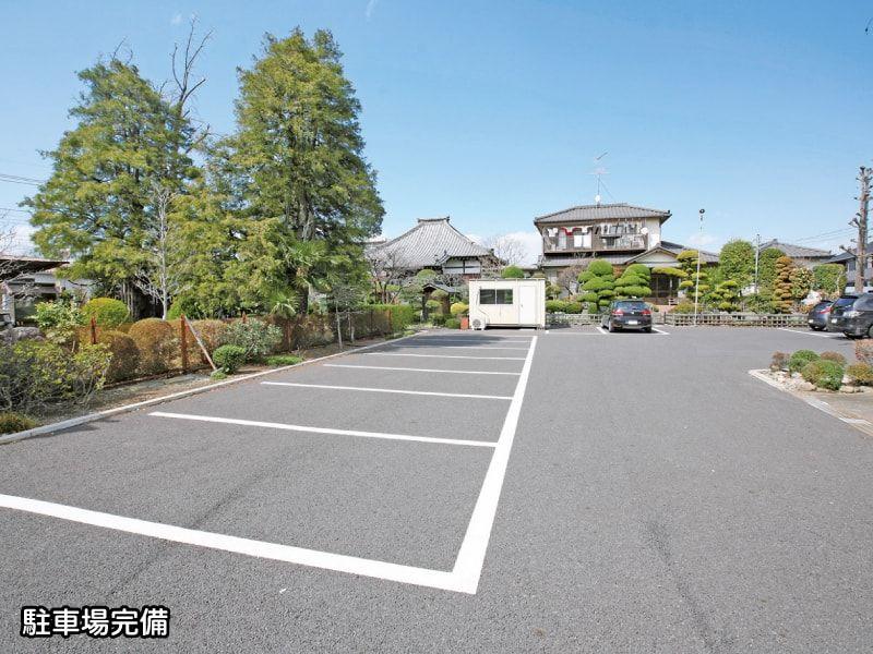 光福寺の駐車場