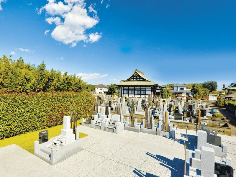 武野山吉祥院の墓域