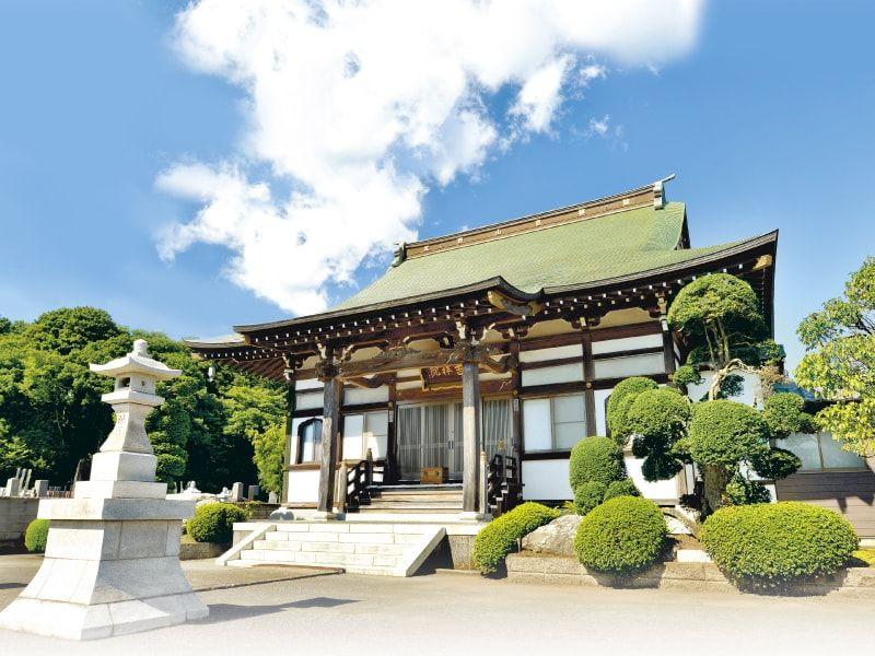 武野山吉祥院の本堂