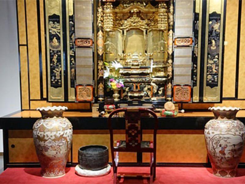 妙力寺 仏壇付納骨壇