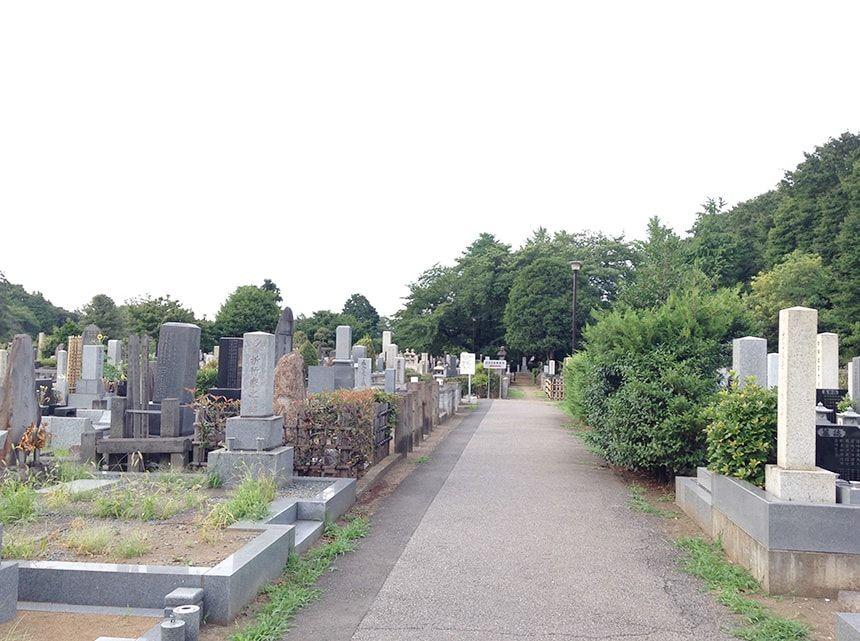 染井霊園9