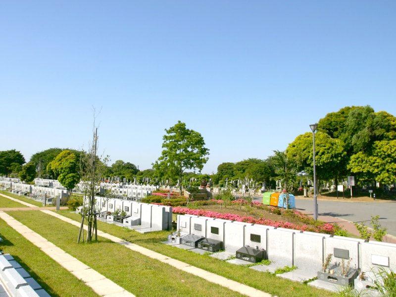 八柱霊園の墓所雰囲気