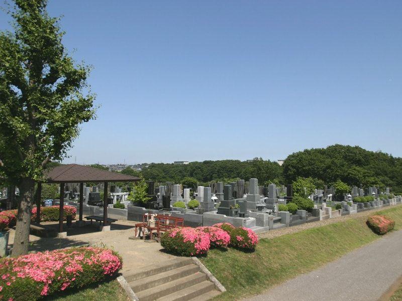 船橋市営馬込霊園の風景