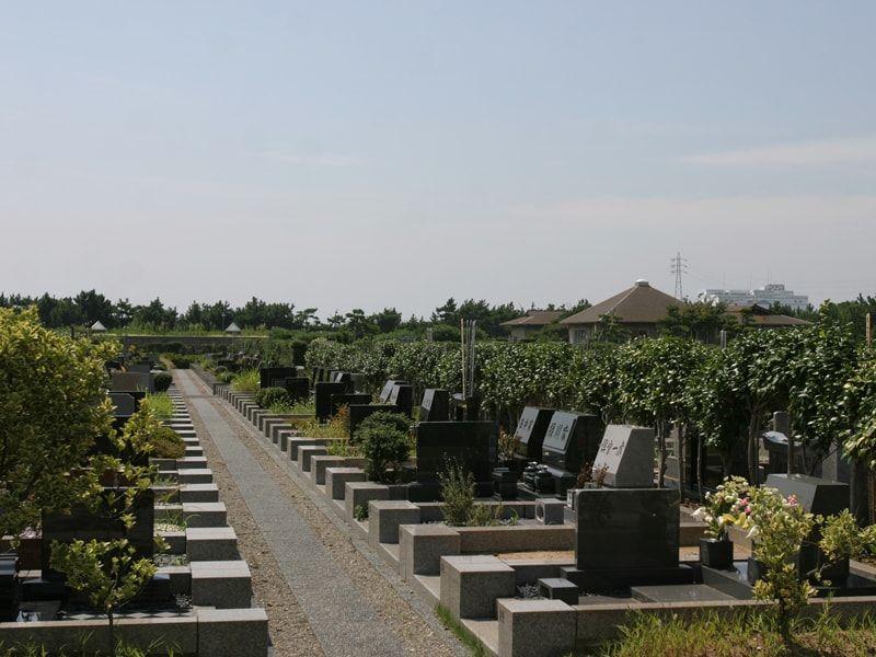 習志野市営海浜霊園のお墓区画