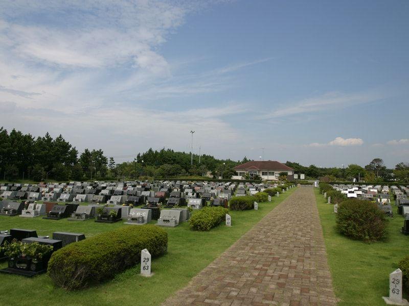 浦安市営浦安墓地公園の霊園雰囲気