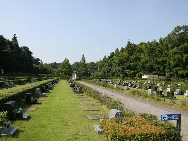 松戸市営白井聖地公園の墓域