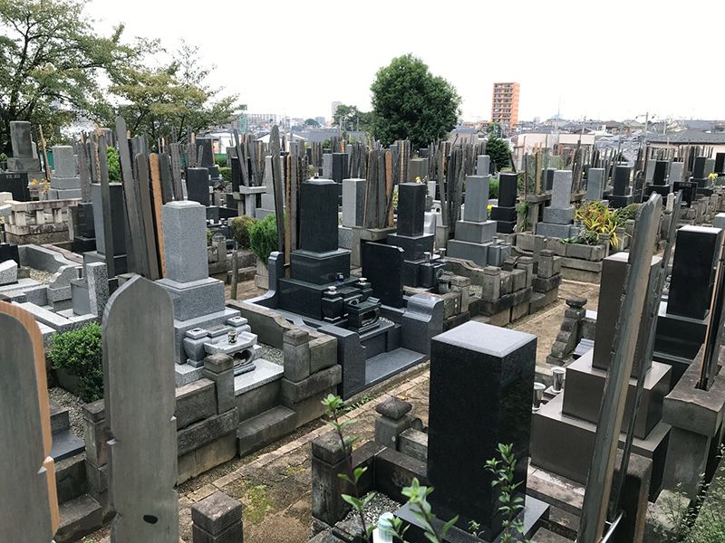 さいたま市営善前墓地