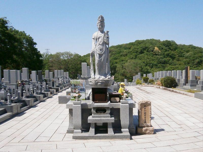 あすか霊園の正面風景