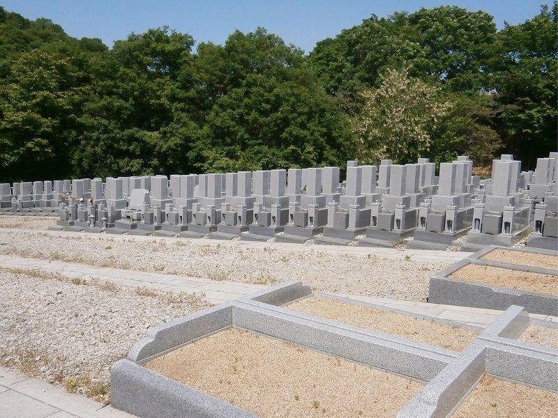 あすか霊園の墓域雰囲気