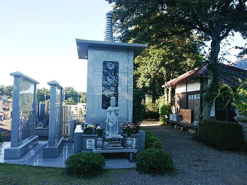 円泉寺墓地