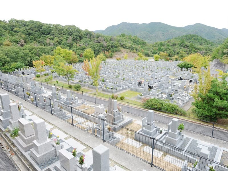 神戸山田霊苑のお墓雰囲気