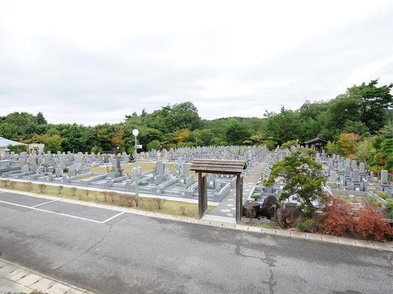 神戸聖地霊園のお墓雰囲気