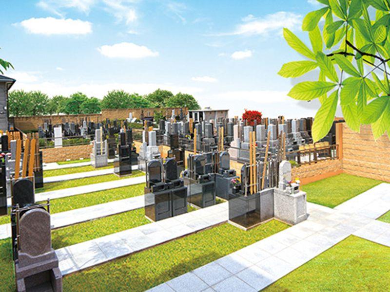 日曜寺愛染墓苑