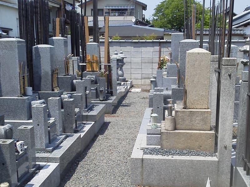 慈詮院墓苑のお墓雰囲気