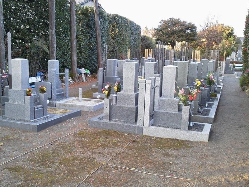 東福寺塔頭天得院のお墓雰囲気