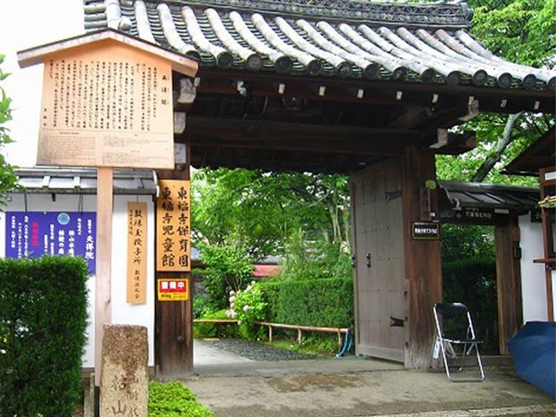 東福寺塔頭天得院の入り口