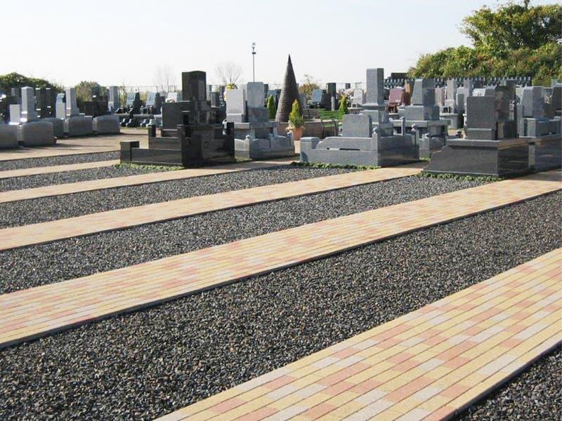 小牧メモリアルパークの墓地区画