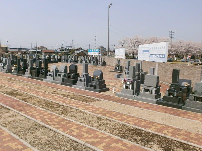 江南霊苑のお墓区画