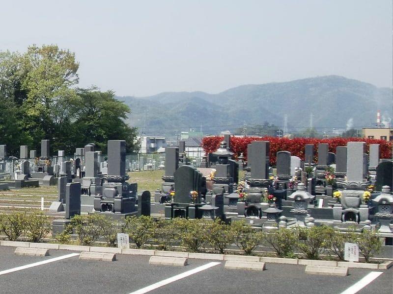 禅台霊苑の墓地雰囲気
