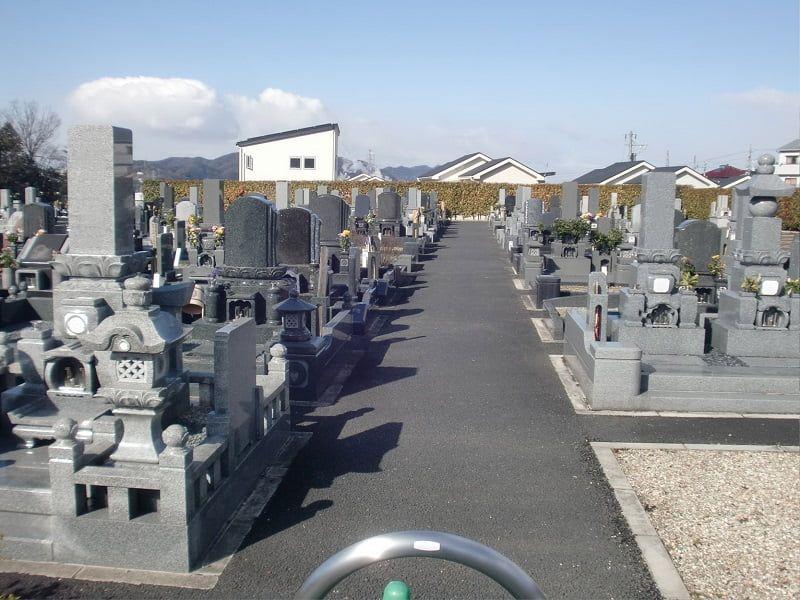 禅台霊苑のお墓区画