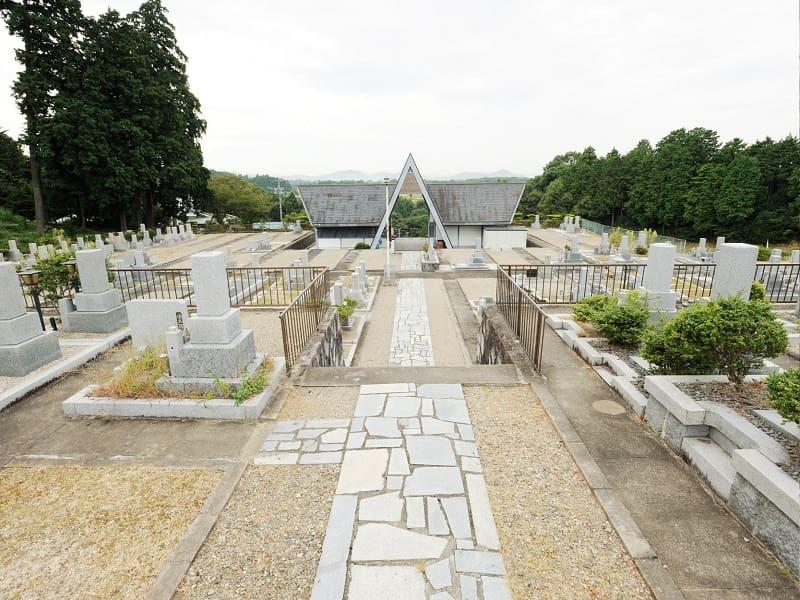 芭蕉ヶ丘霊園の墓地雰囲気