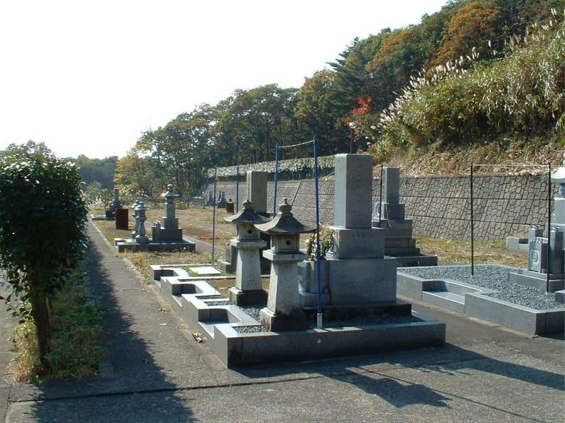 医王山寺霊園のお墓雰囲気