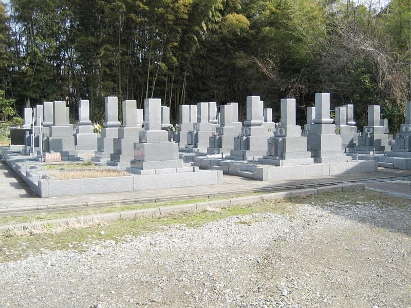 最勝寺墓苑のお墓雰囲気