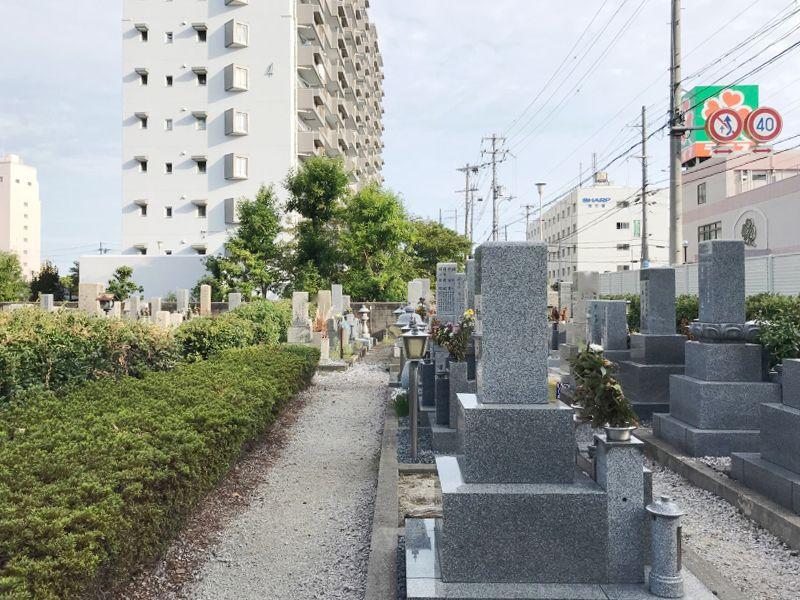 大阪市設 平野霊園