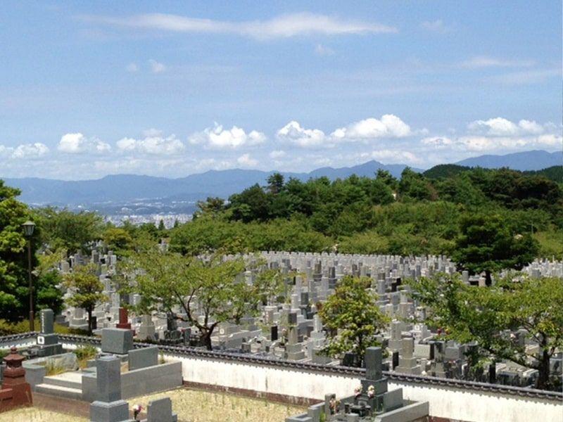 油山平成御廟からの風景