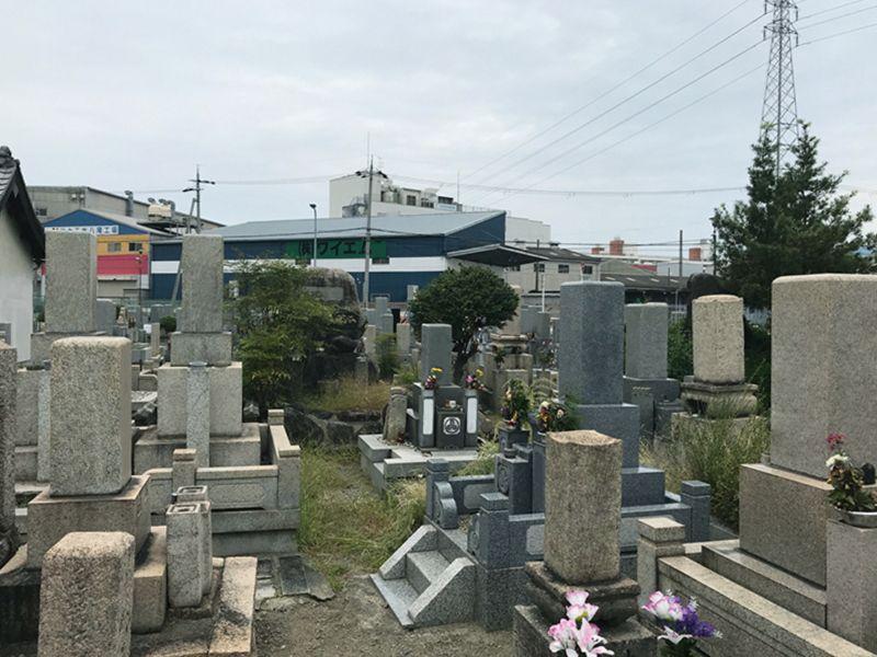 八尾市立 西郡新墓地