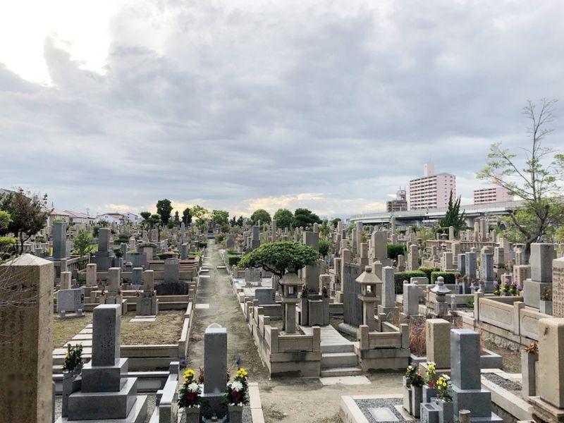大阪市設 南霊園