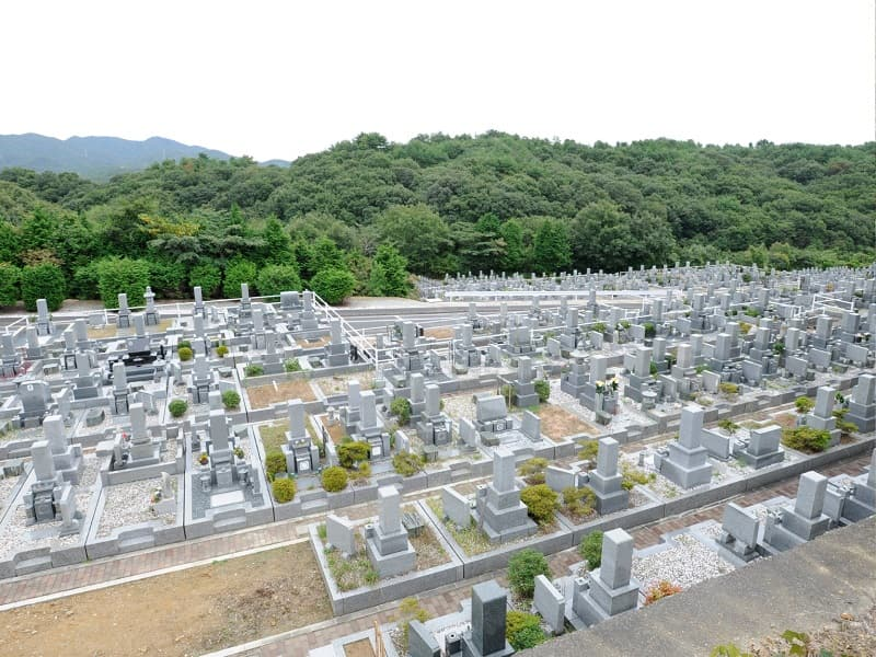 三木霊苑の墓地雰囲気
