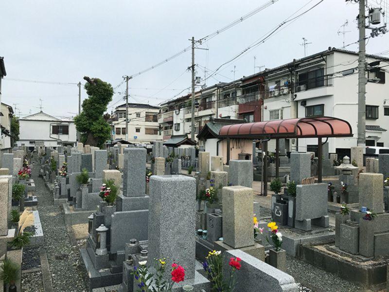 旧住道共同墓地