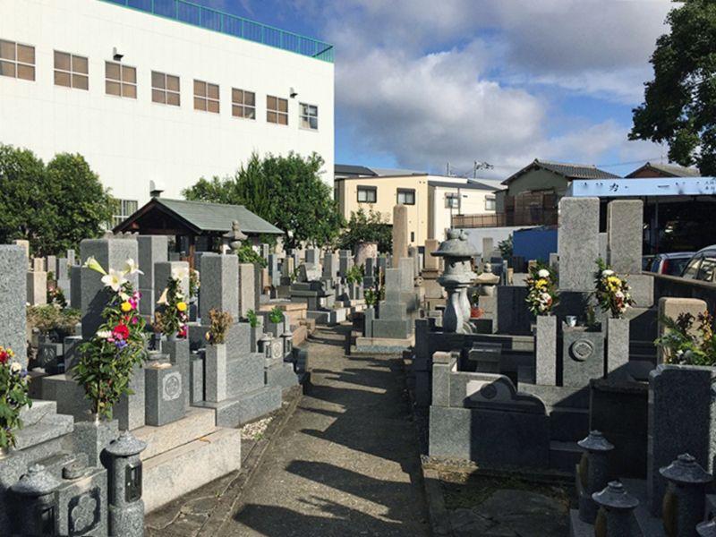 大島共同墓地