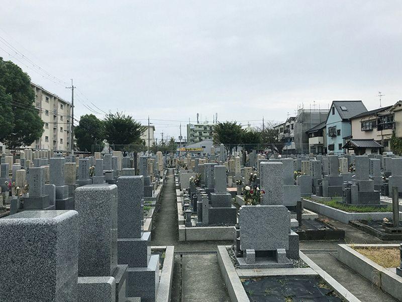 長吉六反・木の本・南木の本共同墓地