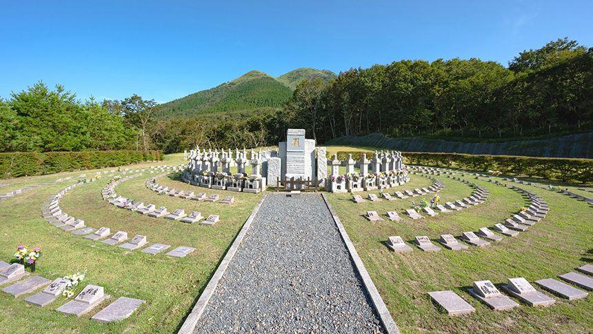 阿蘇くじゅう国立公園内 樹木葬墓地