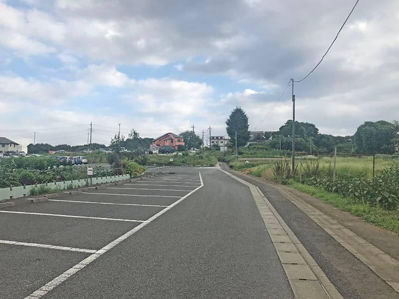 川崎清風霊園駐車場別アングル