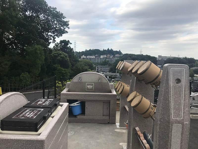 川崎清風霊園水汲み場